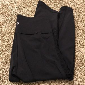 Lululemon Leggings with mesh side